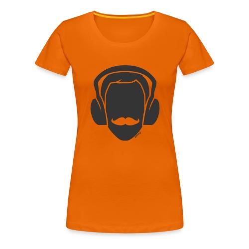 Moustachu Song (H) - T-shirt Premium Femme