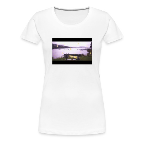 scotland jpg - T-shirt Premium Femme