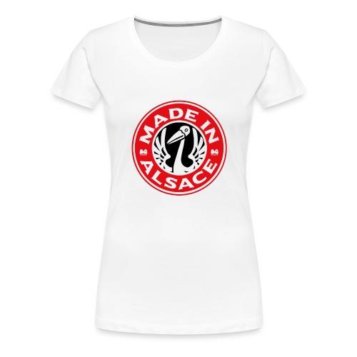 StorkyBuck - T-shirt Premium Femme