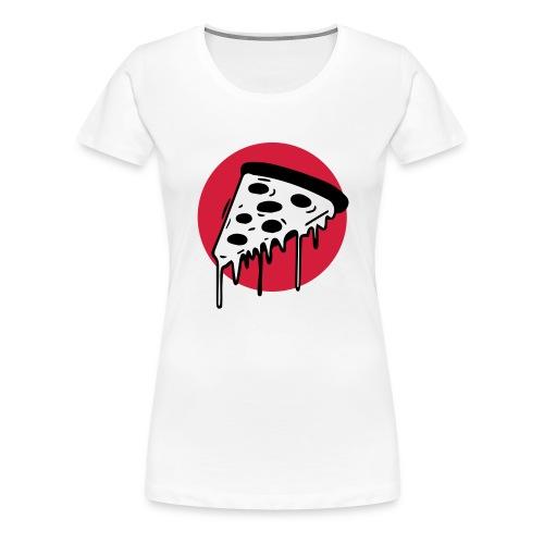 Pizza Punkt Duisburg - das magische Dreieck! - Frauen Premium T-Shirt