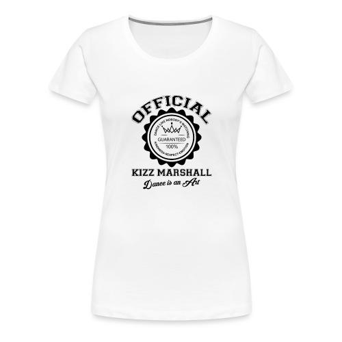 Official kizz marshall Black - T-shirt Premium Femme