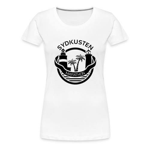 Sydkusten Marathon - Premium-T-shirt dam