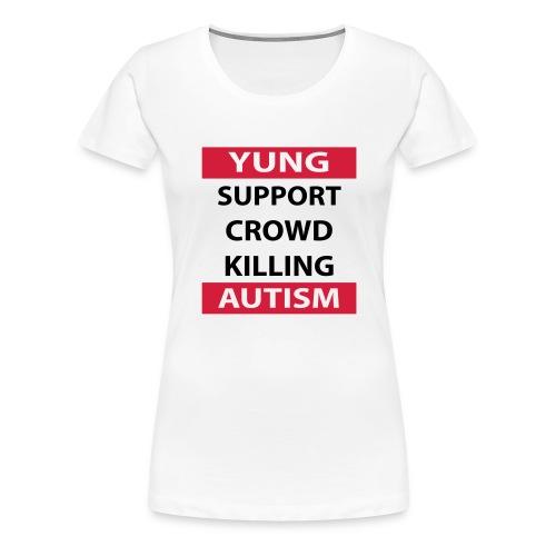 Crowdkill - Vrouwen Premium T-shirt