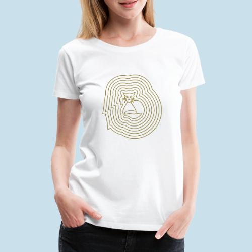 Katzenliebe - Frauen Premium T-Shirt