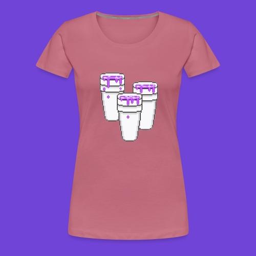 Purple - Maglietta Premium da donna