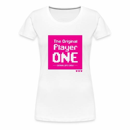TOP1 Crew #1 - Women's Premium T-Shirt