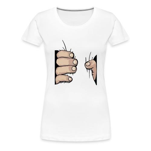 Hand Greift - Greifhand - Frauen Premium T-Shirt
