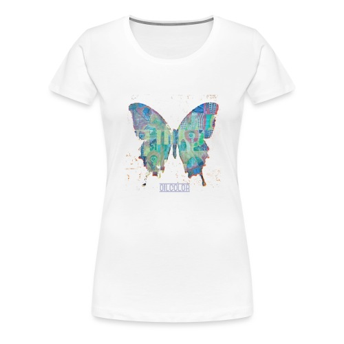 wounded butterfly - Women's Premium T-Shirt