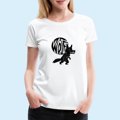 WolfMoon - Frauen Premium T-Shirt