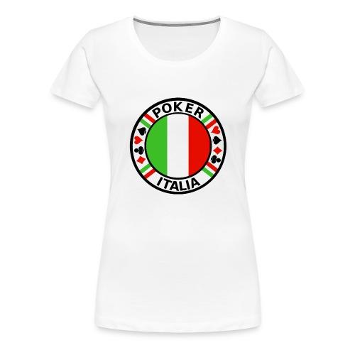 Poker Italia - Women's Premium T-Shirt
