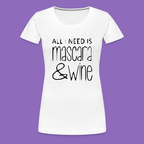 mascarawine - Frauen Premium T-Shirt