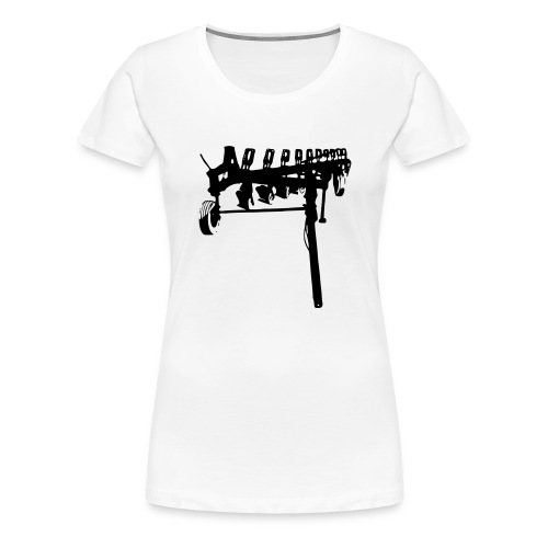 trailed plow - Women's Premium T-Shirt