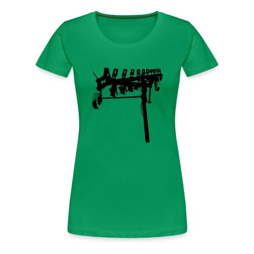 trailed plow - Women's Premium T-Shirt