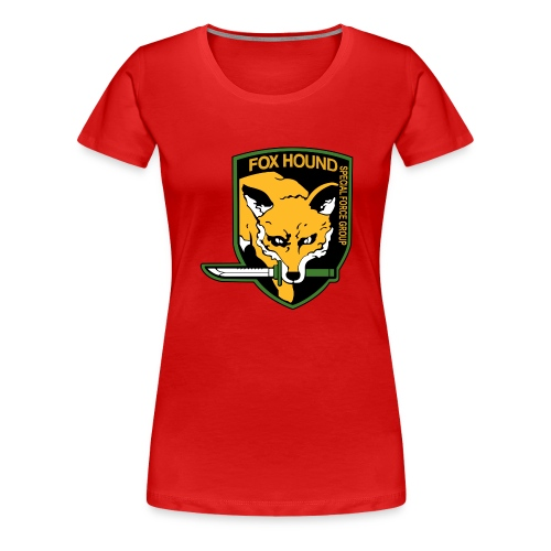 Fox Hound Special Forces - Naisten premium t-paita
