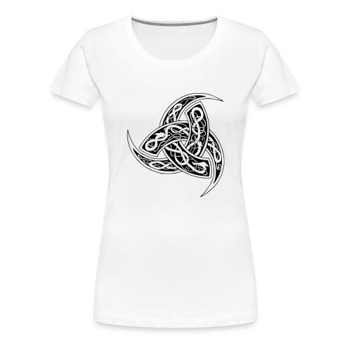 corne de odin - T-shirt Premium Femme