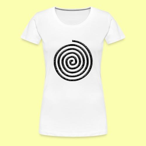 spirale - Maglietta Premium da donna