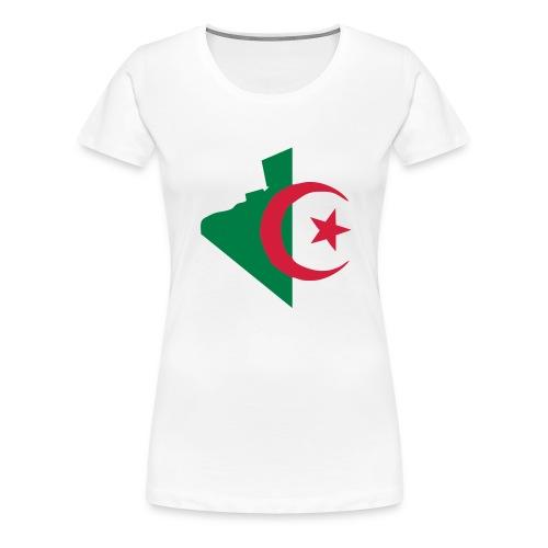 vive l'Algérie - T-shirt Premium Femme
