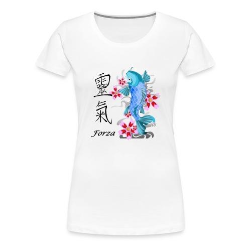 FORZA KANJI - Maglietta Premium da donna