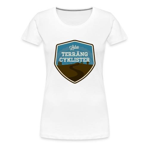 Luleå Terrängcyklister - Premium-T-shirt dam