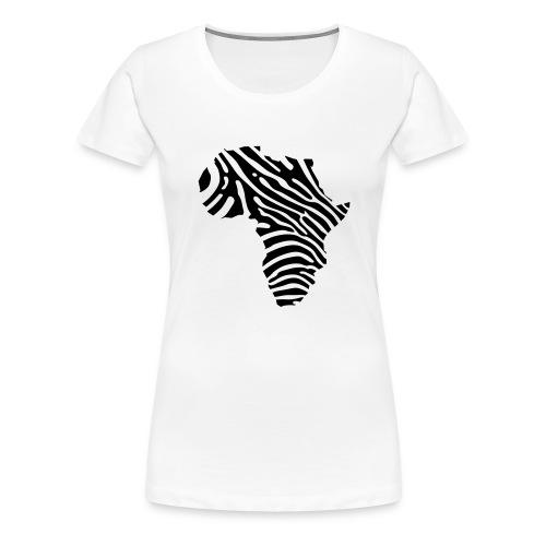 Afryka zebra - Women's Premium T-Shirt
