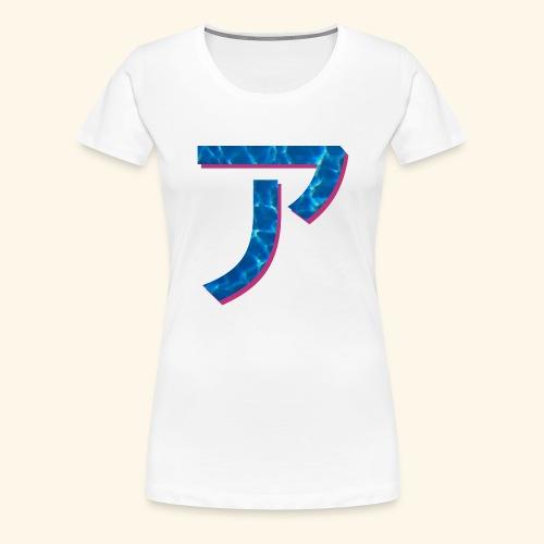 ア logo - T-shirt Premium Femme