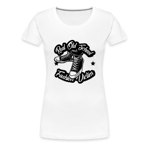 Real Oldschool Fashion - Frauen Premium T-Shirt