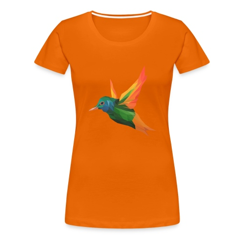 EXOTIC BIRD - MINIMALIST - T-shirt Premium Femme