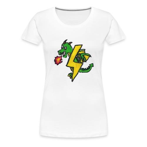 draak - Vrouwen Premium T-shirt