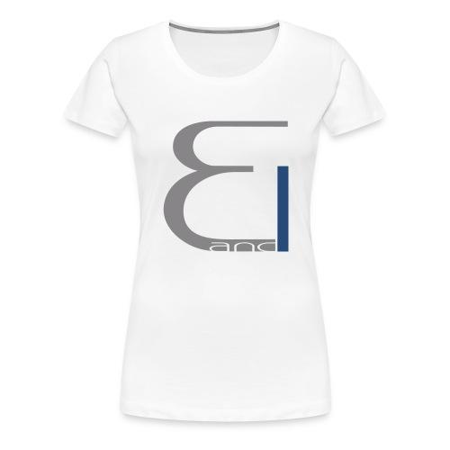 single logo - Frauen Premium T-Shirt