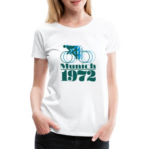 Munich Cycling - Frauen Premium T-Shirt