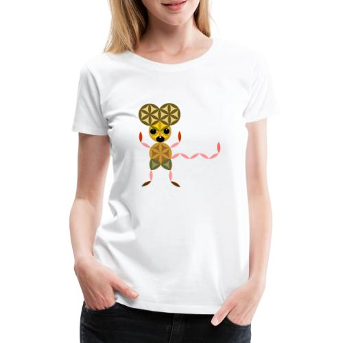 The Mouse Of Life - Sacred Animals - Women's Premium T-Shirt