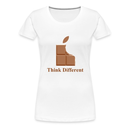 Think Chocolate - T-shirt Premium Femme