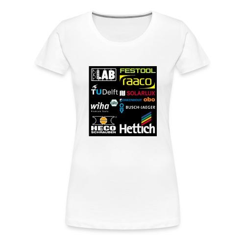 tshirt 2 rueck kopie - Women's Premium T-Shirt