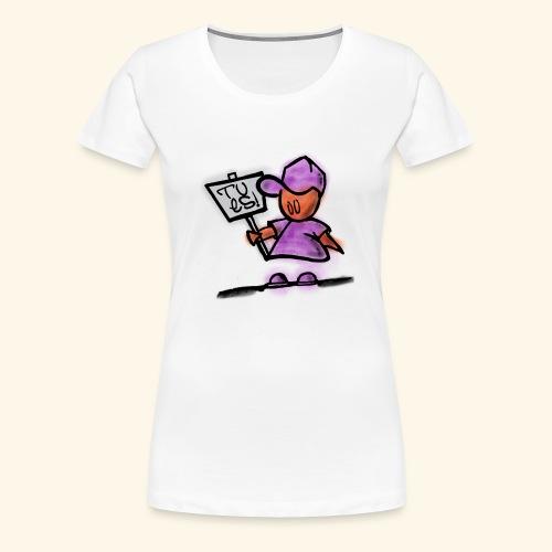 Tu es! - Frauen Premium T-Shirt