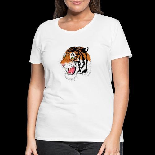 Sumatra Tiger - Frauen Premium T-Shirt