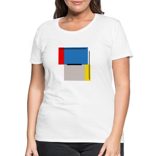 Minimal#01 - Frauen Premium T-Shirt