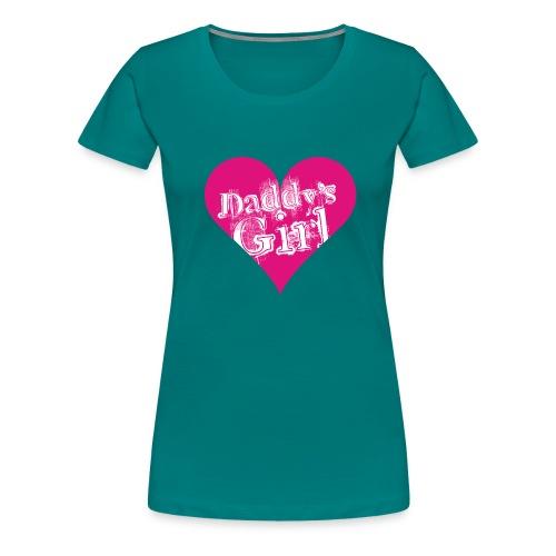 daddys_girl - Naisten premium t-paita