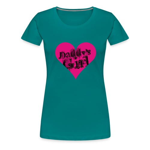 daddys_girl_bl - Naisten premium t-paita