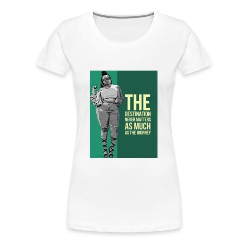girlquote - T-shirt Premium Femme