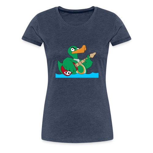 wild duck oHg - Frauen Premium T-Shirt
