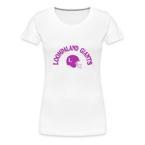 Willy Wonka heeft een team - Vrouwen Premium T-shirt
