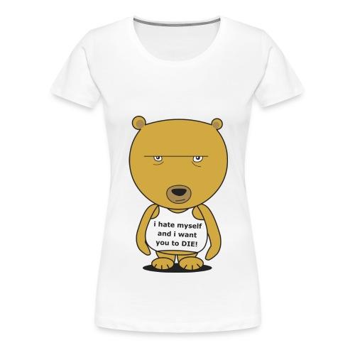 baer Digitalmotiv - Frauen Premium T-Shirt