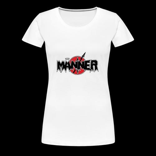 Maenner Logo mit schwarzer Krone - Frauen Premium T-Shirt
