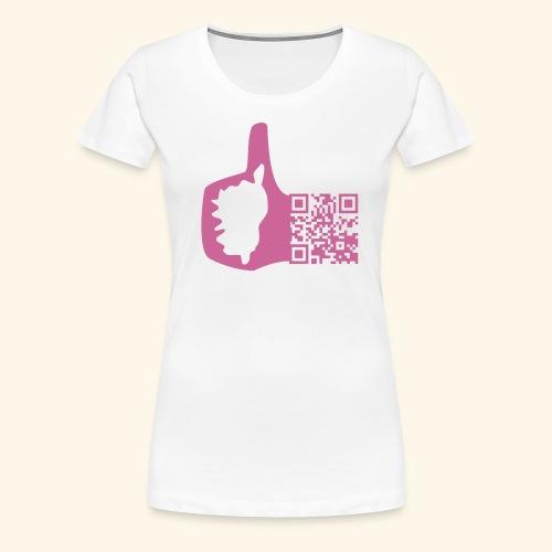 corsica like qr code - T-shirt Premium Femme