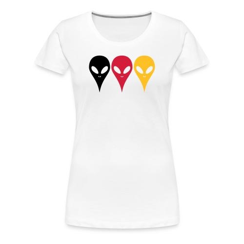 Deutschland Sport Trikot - Frauen Premium T-Shirt
