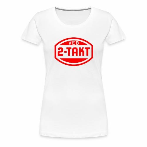 VEB 2-Takt Logo (1c) - Women's Premium T-Shirt