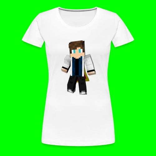 Sweat à Capuche avec Logo - T-shirt Premium Femme