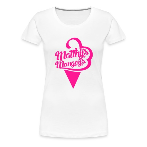 Matthijs Mangoijs Pink Women - Vrouwen Premium T-shirt