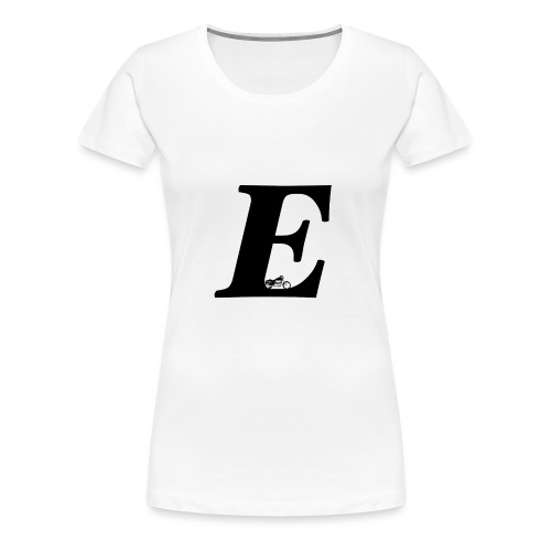 E alphabet - Women's Premium T-Shirt