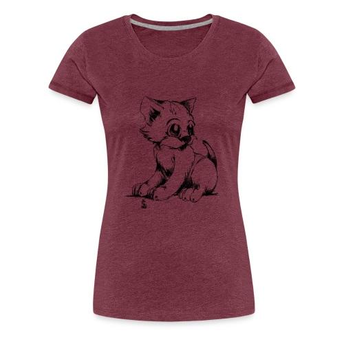 Chaton - T-shirt Premium Femme
